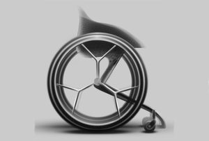 wheelchair-3d