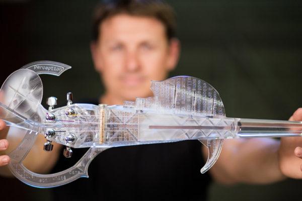 Violín 3D. Foto de 3d-varius.com